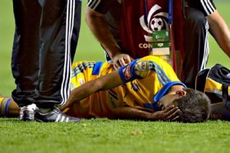 Damm podría estar en el partido ante Puebla, luego de golpe en rodilla