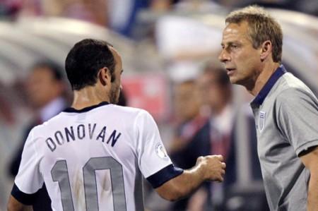 Donovan critica tácticas de Klinsmann
