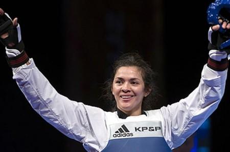 María Espinoza va por el oro