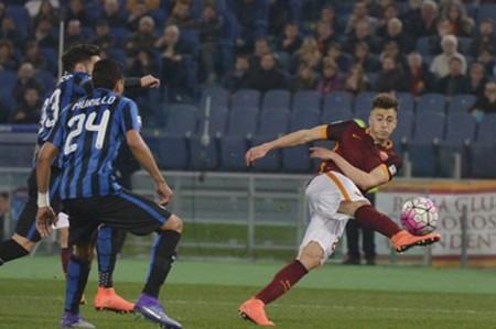 Roma logra un punto ante eI Inter Milán al empatar 1-1