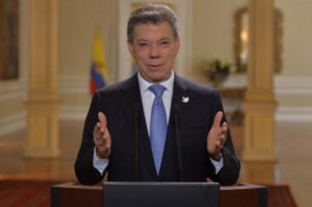 Santos agradece al Papa su apoyo a la paz de Colombia