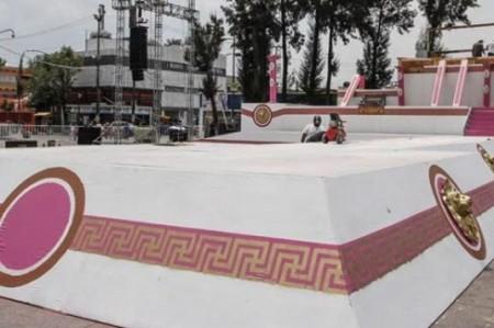 Verifican últimos detalles para representación en Iztapalapa