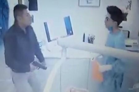 Dentista difunde video de asalto