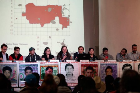 Argentinos dudan de 'verdad histórica' sobre los 43 normalistas