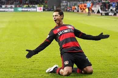 Javier Hernández, en el 11 ideal del Bayer Leverkusen