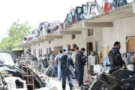 'Deshuesaderos' de Reynosa están en la mira