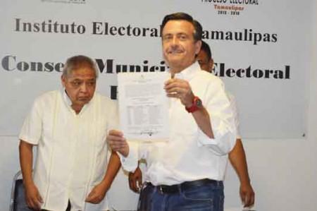Neto ya es el candidato para alcalde en Reynosa
