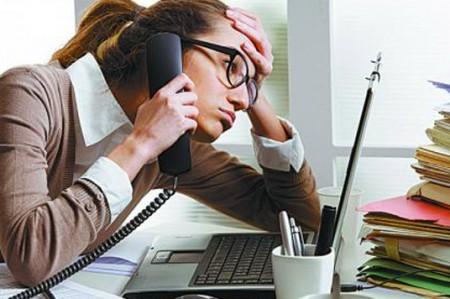 Estrés laboral afecta a 75% de trabajadores