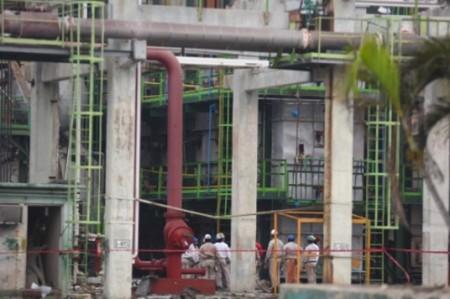 Greenpeace busca tóxicos tras explosión en Coatzacoalcos