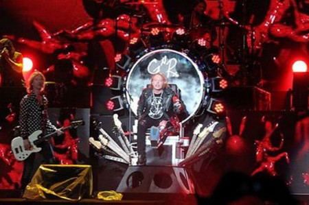 'Guns N' Roses' hace de México su jungla