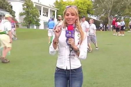 Inés Sainz dice que no rompió ninguna regla en Master de golf