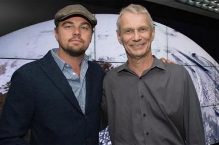 La lucha de DiCaprio lo lleva hasta la NASA
