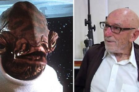 Muere Erik Bauersfeld, la voz de 'Ackbar' en 'Star Wars'