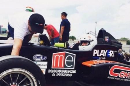 Piloto regiomontano Juan Cantú llega a la Fórmula Panam