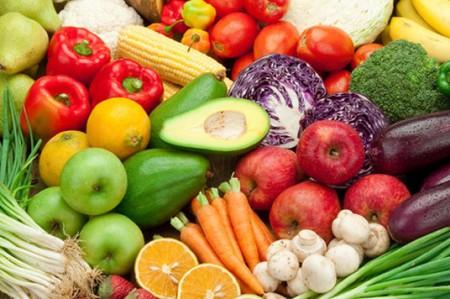 Primavera en frutas y vegetales