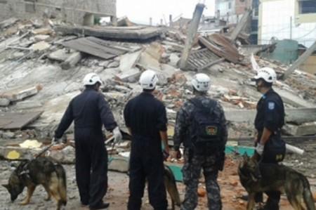 Reportan seis mil 987 empresas afectadas por terremoto en Ecuador