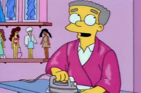 Smithers 'sale del clóset' en 'Los Simpson'