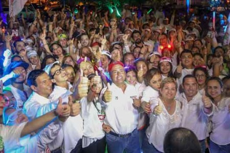 Arranca Neto su campaña por la alcaldía en Reynosa