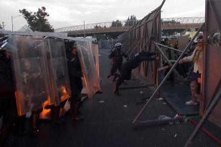 Indemnizarán a víctimas de protestas del 1 de diciembre de 2012