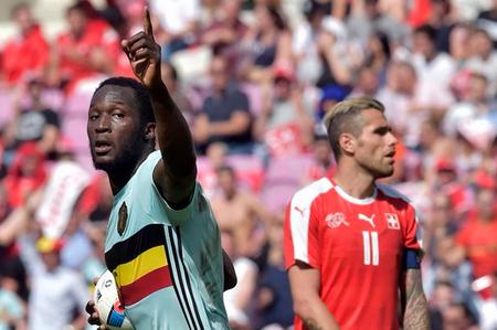 Bélgica se impone 2-1 a Suiza en amistoso rumbo a Eurocopa