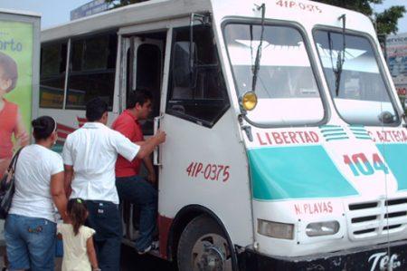 """Pedro García Silva, presidente de la Asociación de Transportistas de Ciudad Victoria """"Microbuses Rojos""""."""