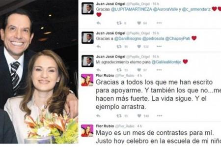 Flor Rubio y Origel agradecen apoyo