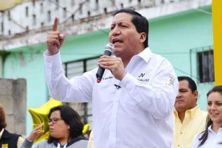 'Somos los que sí tenemos la fórmula para acabar con la delincuencia': Valdez Vargas