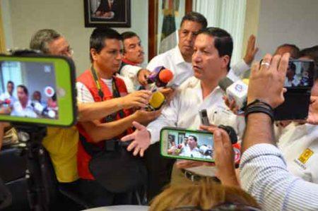 Jorge Valdez propone crear cuatro cuarteles de seguridad en Tamaulipas