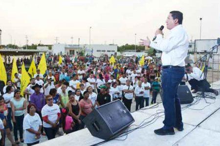 Jorge Valdez se compromete a mejorar la seguridad en Tamaulipas