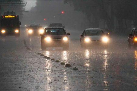 Lluvias nocturnas afectarán la mayor parte del país