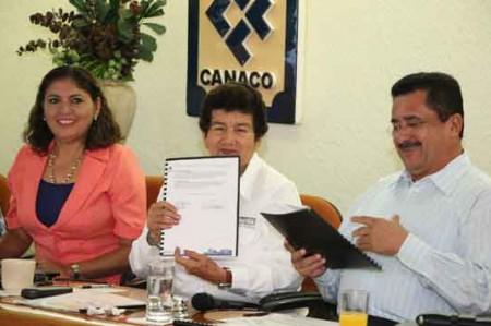 Canaco tendrá todo mi  respaldo: Magda Peraza