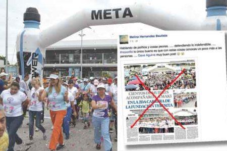 Demandan organismos disculpa a Maki Ortiz