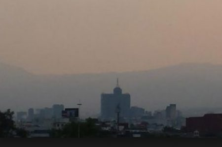 Mantienen contingencia ambiental en la Ciudad de México
