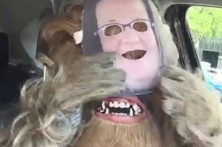 Parodian el video de 'Mamá Chewbacca'