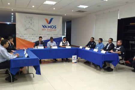 Protección Civil atenta a las lluvias en San Nicolás