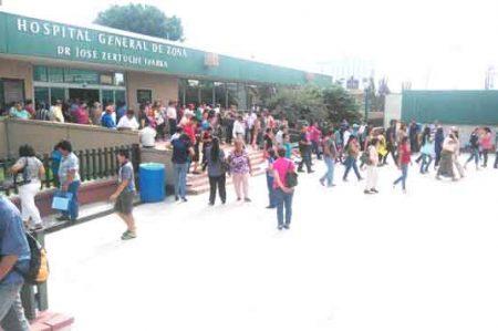 Realiza IMSS simulacro en Reynosa