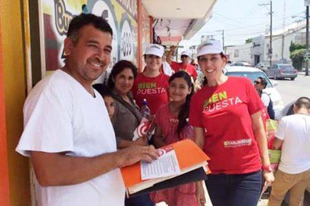 Esposa de Carlos Solís  recorre la Herón Ramírez
