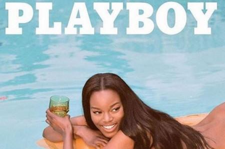 Playboy elige a primera 'playmate' sin desnudos