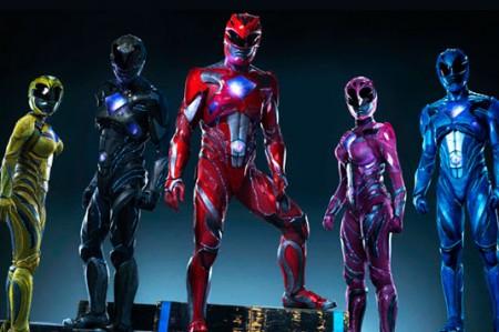 Revelan nueva armadura de los 'Power Rangers'