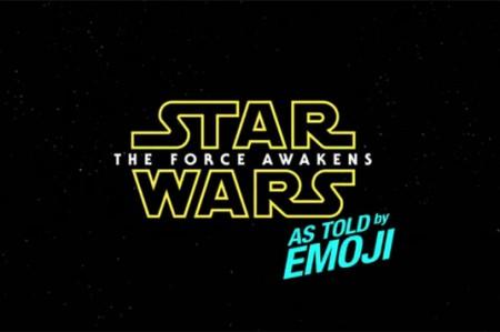 Star Wars de fiesta, con emojis