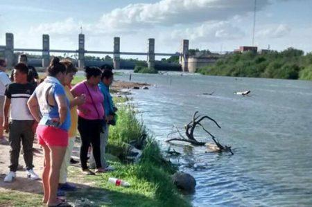Rescatan cadáver del Rio BravoRescatan cadáver del Rio Bravo