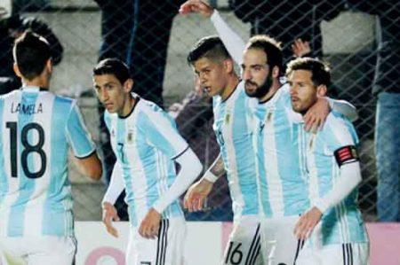 Argentina avanza con paso perfecto