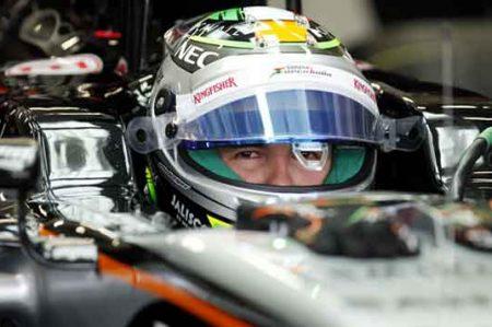 Checo Pérez destaca en Fórmula Uno de Bakú
