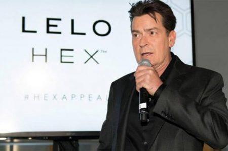 Charlie Sheen será imagen de una marca de preservativos