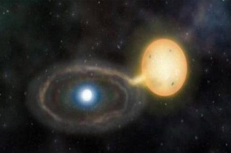 Científicos observan como una estrella enana 'devora' a otra