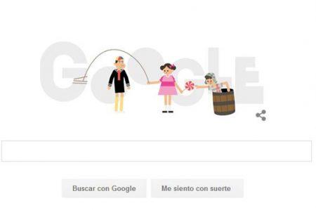 Google recuerda la primera emisión de 'El Chavo del 8'