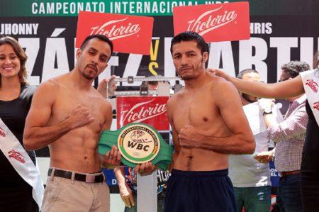 Supera Jhonny González a Martin
