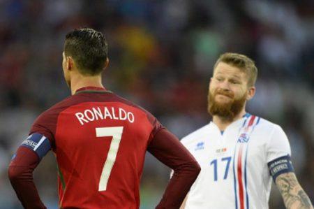 Portugal se conforma con empate 1-1 ante Islandia en Eurocopa 2016