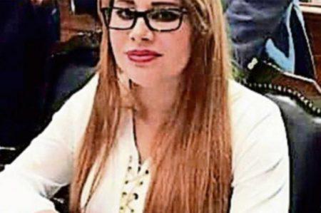 Prueban uso de papeles falsos a Lucero Sánchez