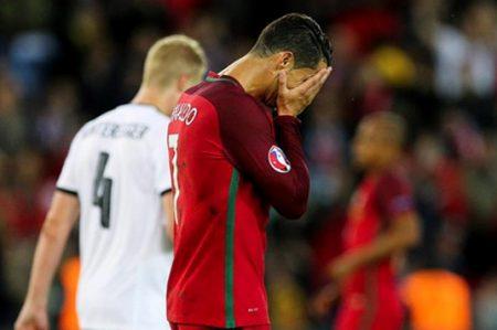 Ronaldo falla penal y Portugal y Austria empatan 0-0